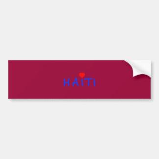 haiti004sm car bumper sticker