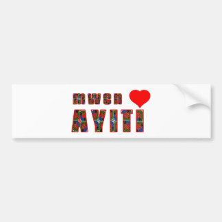 haiti005 bumper sticker