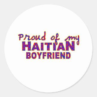 haiti010 classic round sticker