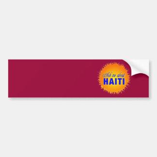 haiti015 car bumper sticker