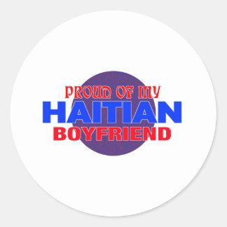 haiti016 classic round sticker