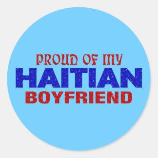 haiti018 classic round sticker