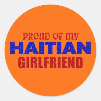 haiti019 classic round sticker