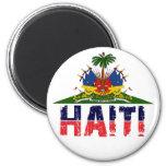 HAITI 2 INCH ROUND MAGNET