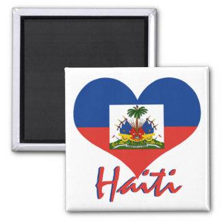 Haiti 2 Inch Square Magnet