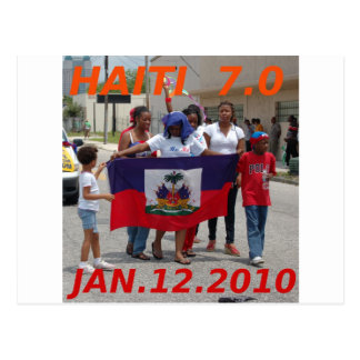 HAITÍ 7 0 TARJETA POSTAL