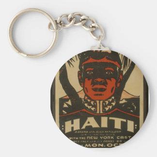 Haiti at the Copley Theatre, Basic Round Button Keychain