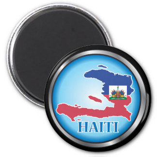 Haití Button.ai redondo Imán Redondo 5 Cm