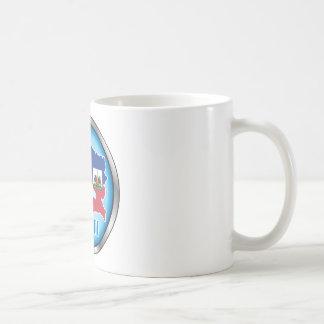 Haití Button ai redondo Taza De Café