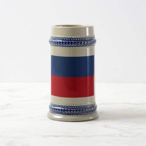 Haiti Civil Flag 18 Oz Beer Stein