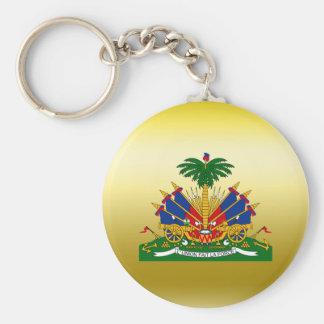 Haiti Coat of Arms Basic Round Button Keychain