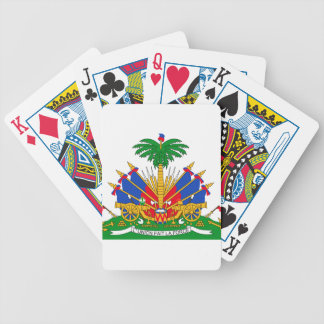 Haiti Coat of Arms Bicycle Playing Cards
