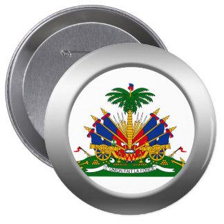 Haiti Coat of Arms Button