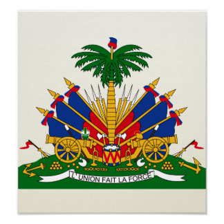 Haiti Coat of Arms detail Poster
