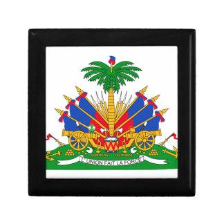 Haiti Coat of Arms Trinket Box