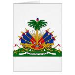 Haiti Coat of arms HT Greeting Card