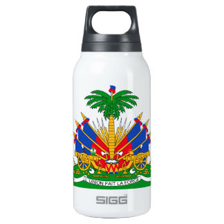 Haiti Coat of Arms Insulated Water Bottle