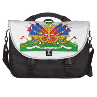 Haiti Coat of Arms Bags For Laptop