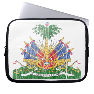 Haiti Coat Of Arms Laptop Sleeve