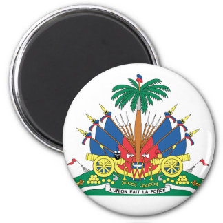 HAITI COAT OF ARMS - MAGNET