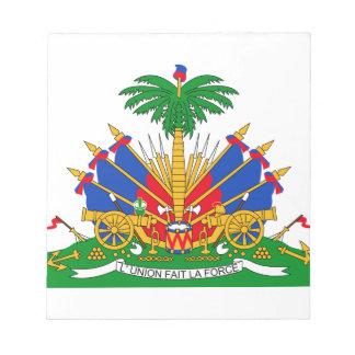 Haiti Coat of Arms Scratch Pad