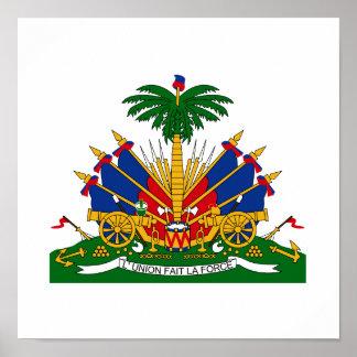 Haiti Coat of Arms Poster