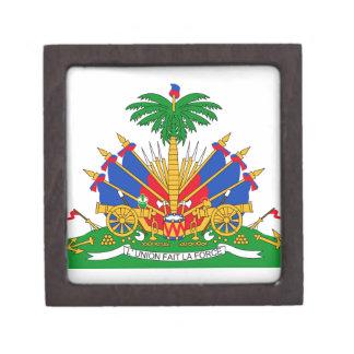 Haiti Coat of Arms Premium Gift Box