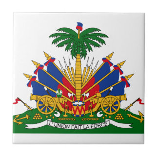 Haiti Coat Of Arms Tile