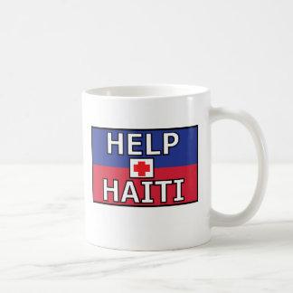 Haiti Cross White Mug