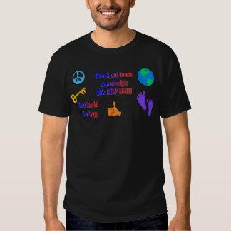 HAITI_ de ayuda Camisas