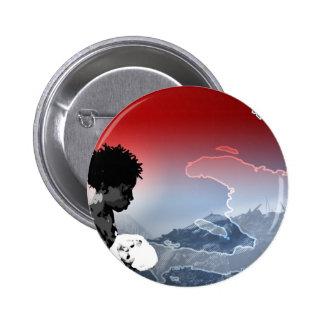 Haiti Earthquake 2 Inch Round Button