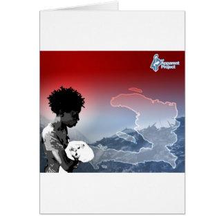 Haiti Earthquake Greeting Card