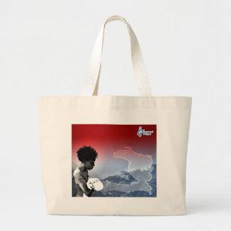 Haiti Earthquake Jumbo Tote Bag