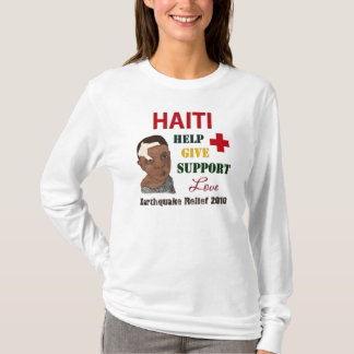 Haiti Earthquake Relief 2010 Womens Long Sleeve T-Shirt