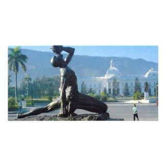 HAITI EARTHQUAKE RELIEF PHOTO GREETING CARD