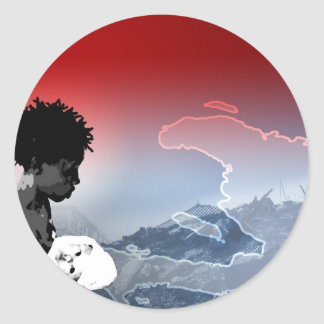 Haiti Earthquake Round Sticker