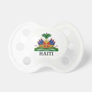 HAITI - emblem/coat of arms/flag/symbol Pacifier