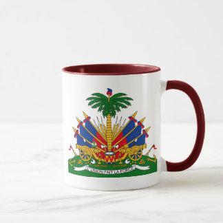 haiti emblem mug