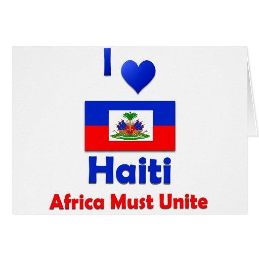 Haití Felicitacion