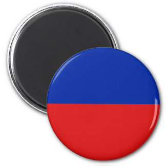 Haiti Fisheye Flag Magnet