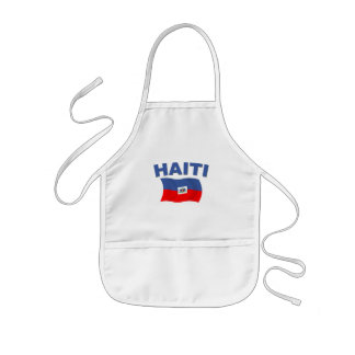 Haiti Flag 1 Kids' Apron