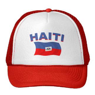 Haiti Flag 2 Trucker Hat