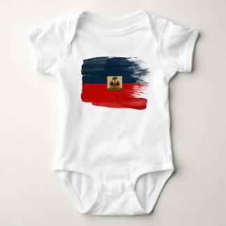 Haiti Flag Baby Bodysuit