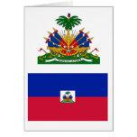 Haiti Flag HT Greeting Cards