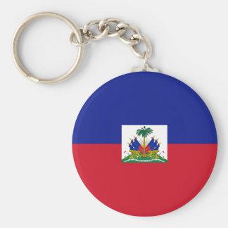 Haiti Flag Keychain