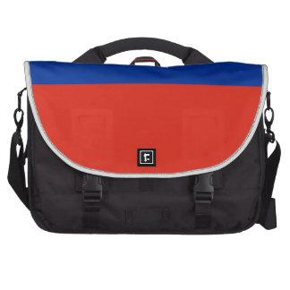Haiti Flag Bag For Laptop