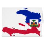 Haiti Flag Map HT Cards