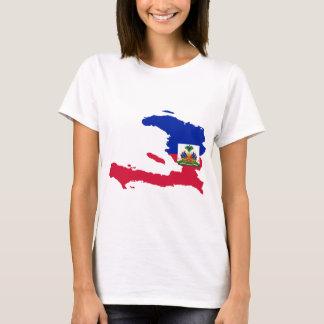 Haiti Flag Map HT T-Shirt