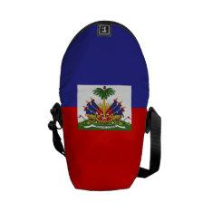 Haiti Flag Messenger Bag at Zazzle