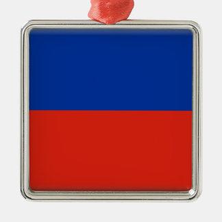 Haiti Flag Metal Ornament